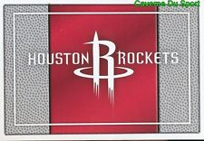 207 TEAM LOGO USA HOUSTON ROCKETS STICKER NBA BASKETBALL 2017 PANINI