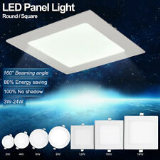 Round/Square Recessed Ceiling Lamp LED Panel Down Light For Home/Commercial 2835