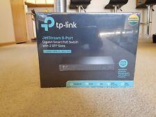 TP-LINK TL-SG2210P 8 Port Gigabit Smart PoE Managed Switch with 2 SFP Slots 53W
