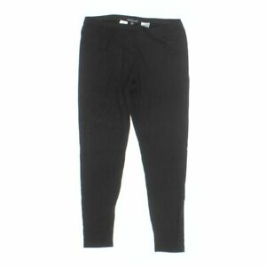 EILEEN FISHER Women's Leggings size L,  black,  rayon, lycra,  good condition