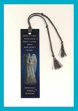 Doctor Who - Weeping Angel Book Marker Laminated Dr.Who Bookmarker