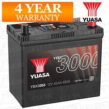 Car Battery YBX3053 Calcium Black Case SMF & SOCI 12V 400CCA 45Ah T1/T3 by Yuasa