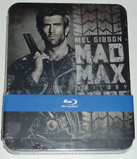 MAD MAX TRILOGY 3-DISC BLU-RAY TIN/METAL BOX NEU & OVP SEALED SOLD OUT TRILOGIE