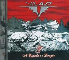 VLAD V - A ESPADA e o DRAGAO BRAZIL HEAVY PROG ROCK with FLUTE & SAX CD +5 XTKS