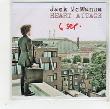 (FW77) Jack McManus, Heart Attack - DJ CD