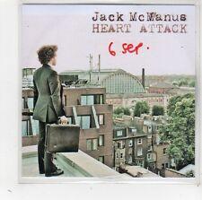 (FW77) Jack McManus, Heart Attack - DJ CD