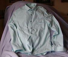 River Island Slim Fit Shirt with Grandad Style Insert - M
