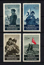 1952 TURKEY KOREA KOREAN WAR COMPLETE SET MNH**