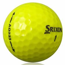25 Srixon AD 333 YELLOW Lake Golf Balls - PEARL / GRADE A - from Ace Golf Balls