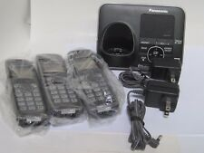 Panasonic Kx-Tg7623B 1.9 Ghz Trio Handsets Single Line Cordless Phone