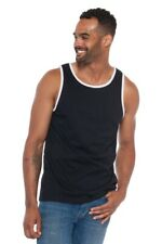 Ably Captain Tank Top New With Tags Black/ White Water / Sweat Proof