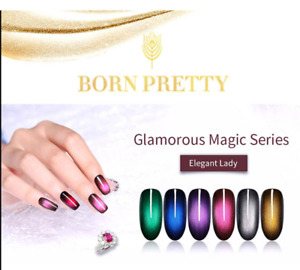 BORN PRETTY Complete Magnetic Gel Set (3 Bottles & Magnet Included)