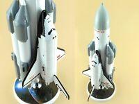 "Handmade  Soviet space Shuttle ""Energia Buran"" scale model 1/44"