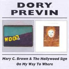 Dory Previn Mary C. Brown& The Hollywood Sign/On My Way To Where 2-CD NEW SEALED
