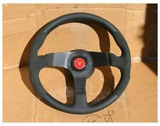 Vintage Suede Competition Personal Fittipaldi Steering Wheel Lancia Delta Rally