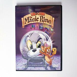 Tom & Jerry The Magic Ring DVD Region 4 AUS Free Postage - Kids