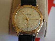 Nice Vintage 1961 BULOVA 10K RGP 17J Manual Wind Men's Watch