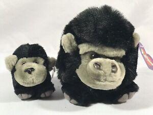 NWT Swibco Puffkin MAX Gorilla Plush & KEYRING Keychain