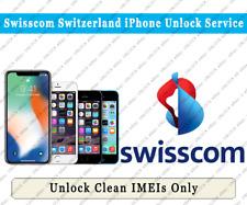 Unlock Swisscom Switzerland iPhone Xs Max/Xs/Xr/X/8/8+/7/7+/6S/6S+/SE/5S/5C/5/4S