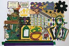 New Orleans Mardi Gras Custom Mini Book Chipboard Album Kit Scrapbook Travel
