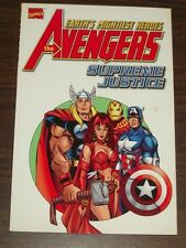 Avengers Supreme Justice Mark Waid Kurt Busiek (Paperback, 2001)< 9780785107736