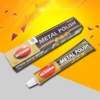 Autosol Solvol Chrome Polish/Cleaner Aluminium & Metal Paste Tube Car 75ML