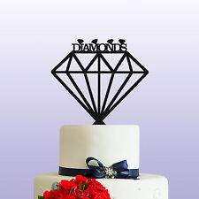 Diamanti Acrilico Pietre Preziose Compleanno Cake Topper Decorazioni & BOMBONIERA ref 1
