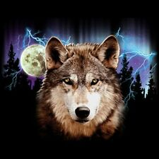 Wolf Lightning T Shirt Choose Style & Size Up to 4XL 10462