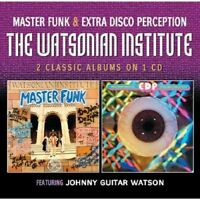 The Watsonian Institute - Master Funk / Extra Disco Perception [CD]