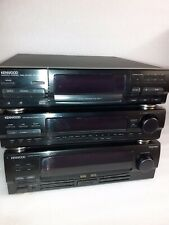 kenwood DP-M87 Multiple Compact Disc Player 6 Disc Changer T-76L Tuner GE-970