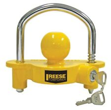 Tow Hitch Lock Trailer Ball Universal Coupler Reese Towpower Security Boat Camp