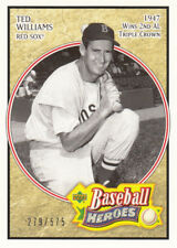 Ted Williams 2005 Upper Deck Baseball Heroes #187