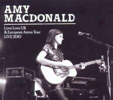 AMY MACDONALD The Love Love UK and European Arena Tour - Live 2010 - CD Set, New