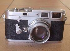 Early Leica M3 camera body no. 783566 summicron Leitz chrom-ds 1955 ( 6900 ex)