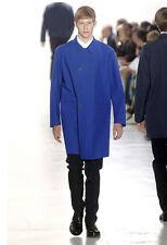 Raf Simons, Jil Sander, blue coat, Spring / Summer 2007, EU 50 / L