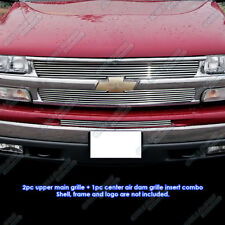 Fits 99-02 Chevy Silverado/00-06 Tahoe Billet Grille Combo