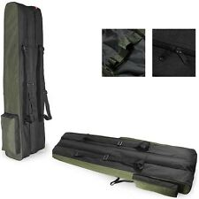 3 poches 80cm fishing holdall sac de bagages pour made up cannes et moulinets vert noir
