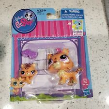 Littlest Pet Shop Tiger Mom and Baby #3593 & 3594
