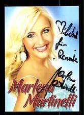 Marlena Martinelli Autogrammkarte Original Signiert ## BC 77493