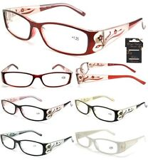 Wholesale  Lots Reading Glasses 12 PAIRS  WITH FLOWER Design Assorted Strengths