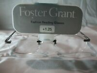 Foster Grant Dustin Rimless Reading Glasses +1.00 1.25 1.50 1.75 2.00 2.25 2.75