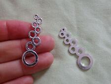 10 Tibetan silver charms pendant links connector antique wholesale UK-47