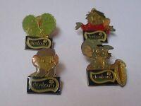 Lot de 4 pin's disney - Chambourcy / Bernard et Bianca