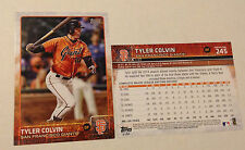 2015 Topps 5x7 TYLER COLVIN (#/99 Made) Giants #245 Online Exclusive Jumbo Print