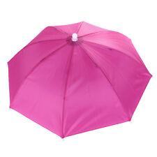 Outdoor Foldable Sun Umbrella Hat Golf Fishing Camping Headwear Cap Head Hat T99