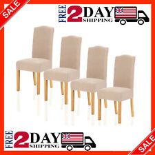 Stretch Dining Room Chair Cover for Home Decor Durable Washable
