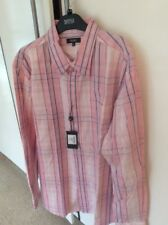 Wolsey XL Pink Checked Long Sleeved Shirt New