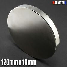 SUPER Neodymium Magnet LARGE 120mm dia x 10mm Very STRONG DISC Neodym Neodimio