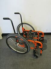 MANUAL FOLDING FRAME WITH TIRES FOR CATALYST WHEELCHAIR SN:C5001113