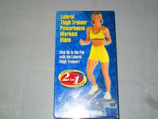 Toning 2 in 1 Cardio (VHS) brenda Dygraf Brand New